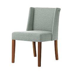 Světle zelená židle s tmavě hnědými nohami Ted Lapidus Maison Zeste