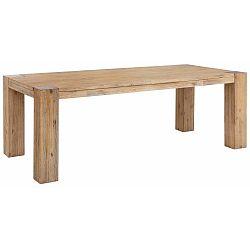 Světlý jídelní stůl z mangového dřeva Støraa Mabel, 90x180cm