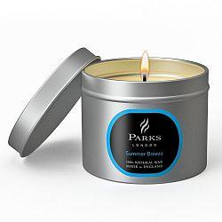 Svíčka Parks London, 25 hodin hoření, vůně léta