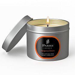 Svíčka Parks London, 25 hodin hoření, vůně mandarinky