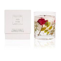 Svíčka s vůní červené růže Stoneglow, doba hoření 30 hodin