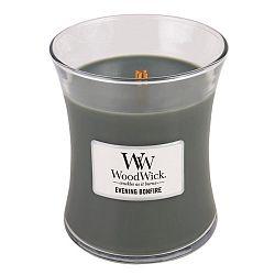Svíčka s vůní dřevin WoodWick Večer u táboráku, dobahoření60hodin