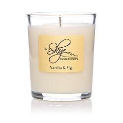 Svíčka s vůní vanilky a fíků Skye Candles Container, délkahoření12hodin