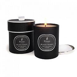 Svíčka s vůní vanilky, pačuli a levandule Parks Candles London  Black Magic, 50 hodin hoření