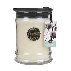 Svíčka s vůní ve skleněné dóze s vůní bavlny Creative Tops, doba hoření 65 - 85 hodin