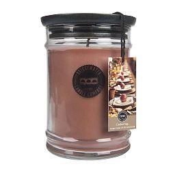 Svíčka s vůní ve skleněné dóze s vůní hrušky a skořice Creative Tops Gathering, doba hoření 140 - 160 hodin