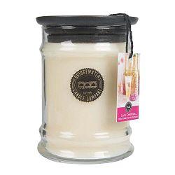 Svíčka ve skleněné dóze s vůní jahod a zimolezu Creative Tops Let´s Celebrate, doba hoření 65-85 hodin