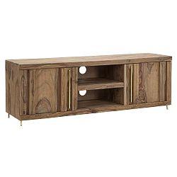 Televizní stolek ze dřeva sheesham Mauro Ferretti Elegant