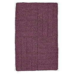 Tmavě fialová koupelnová předložka Zone Classic, 50 x 80 cm