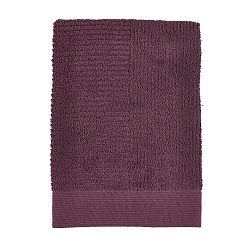 Tmavě fialová osuška Zone Classic, 70 x 140 cm
