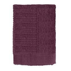 Tmavě fialový ručník Zone Classic, 50 x 70 cm