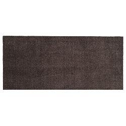 Tmavě hnědá rohožka Tica Copenhagen Unicolor, 67x150cm