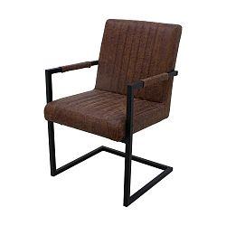 Tmavě hnědá židle HSM collection Vegas