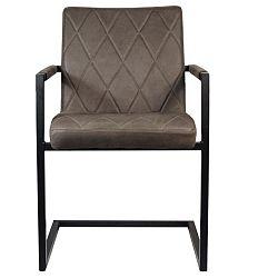 Tmavě hnědá židle LABEL51 Denmark