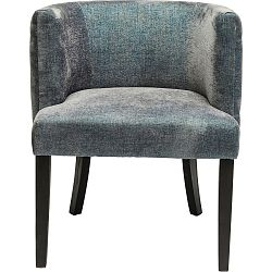 Tmavě modrá židle Kare Design Theater