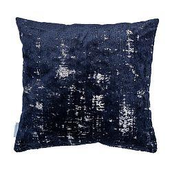 Tmavě modrý polštář s výplní Zuiver Sarona Vintage, 45x45cm