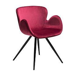Tmavě růžová židle DAN-FORM Denmark Gaia