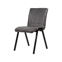 Tmavě šedá jídelní židle LABEL51 Boris