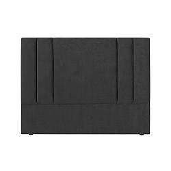 Tmavě šedé čelo postele Kooko Home Kasso, 120 x 180 cm