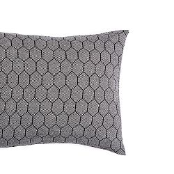Tmavě šedý povlak na polštář Mikabarr Hive, 50 x 50 cm