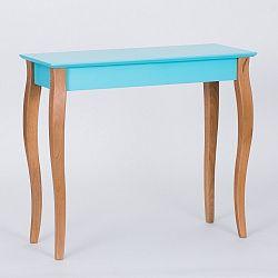 Tmavě tyrkysový odkládací stolek Ragaba Console,délka85cm