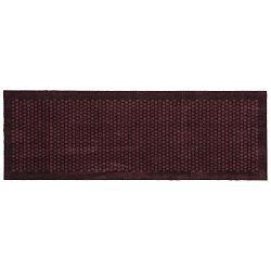 Tmavě vínová rohožka Tica Copenhagen Dot, 67x200cm