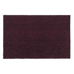 Tmavě vínová rohožka Tica Copenhagen Unicolor, 40x60cm