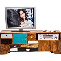 TV komoda z mangového dřeva Kare Design Babalou
