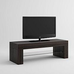 TV stolek v dekoru tmavého dubu MobiliFiver Evo