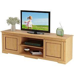 TV stolek z borovicového dřeva Støraa Larry
