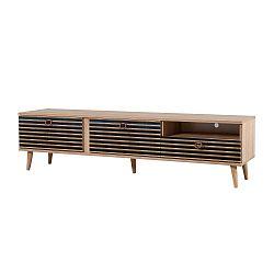 TV stůl Stella Blue Classic, šířka 46 cm