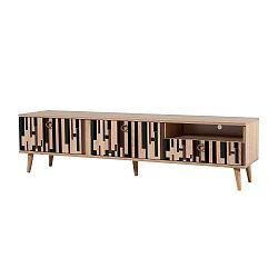 TV stůl Stella Piano, šířka 46 cm