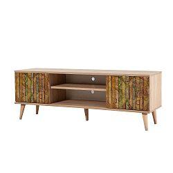 TV stůl Truva Retro, šířka 140 cm