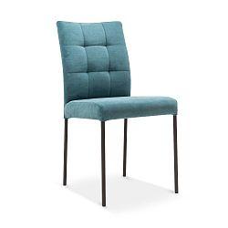 Tyrkysová jídelní židle s černými nohami Mossø Patto