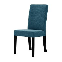 Tyrkysová židle s černými nohami Ted Lapidus Maison Tonka