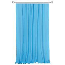 Tyrkysově modrý závěs Apolena Simply Blue, 170x270cm