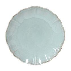 Tyrkysový kameninový talíř Costa Nova Alentejo, ⌀27cm