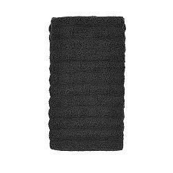 Uhlově šedý ručník Zone Prime, 50x100cm
