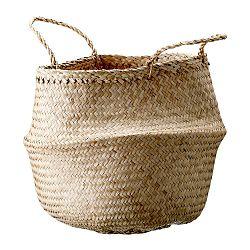 Úložný košík z mořské trávy Bloomingville Basket, ø40cm