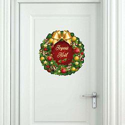 Vánoční samolepka Ambiance Merry Christmas