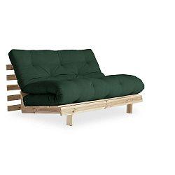 Variabilní pohovka Karup Design Roots Raw/Forest Green