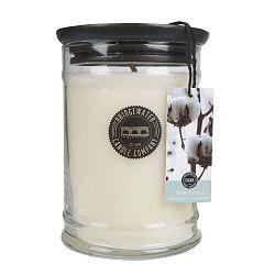 Velká svíčka ve skle Creative Tops Sweet White Cotton, doba hoření 140-160hodin