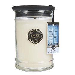 Velká svíčka ve skle s vůní mandarinky Creative Tops Sweet Blue Door, doba hoření 125-145hodin