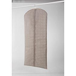 Velký béžový závěsný obal na šaty Compactor Dots, 137cm