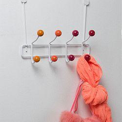 Věšák na dveře s 8 háčky Compactor Colorful