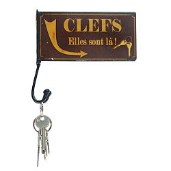 Věšák na klíče Antic Line Clefs