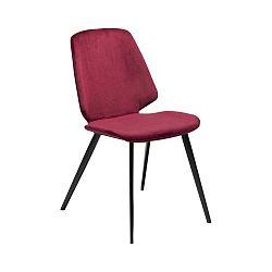 Vínová jídelní židle DAN–FORM Denmark Swing Velvet