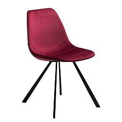 Vínově červená jídelní židle DAN-FORM Denmark Pitch
