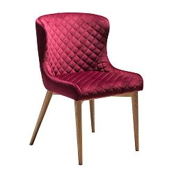 Vínově červená jídelní židle DAN-FORM Denmark Vetro
