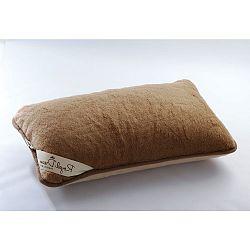Vlněný polštář Royal Dream Camel, 40x70 cm